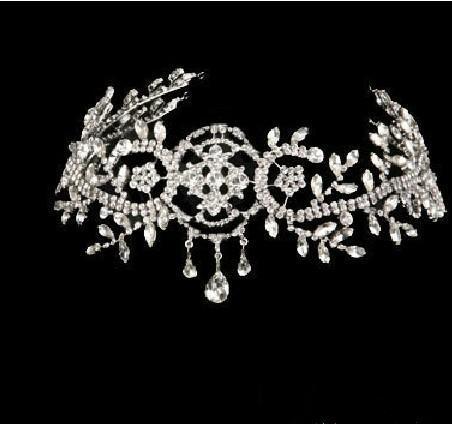 Couronne de mariage Couronne Couronne Tiara ornements de cheveux Party diadème Party Toys Accessoires de robe de danse