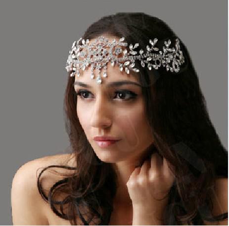 Corona flexible Wedding Crown Tiara adornos para el cabello Fiesta tiara Party Toys Dancing dress accesorios