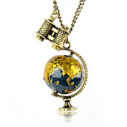 $enCountryForm.capitalKeyWord UK - New design !!!Fashion vintage gold enamel earth pendant necklace statement jewelry world map pendant necklace Kids jewelry NL-1951
