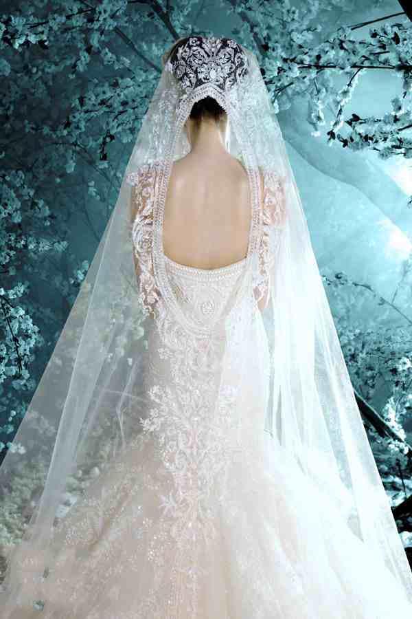 Clássico Retro Melhor Design Sereia Vestidos De Casamento Rendas com Lindo Véu Catedral Vestido De Noiva