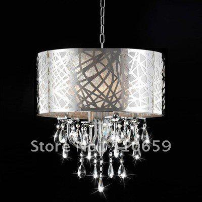 2018 modern chrome drum crystal chandelier ceiling pendant light 2018 modern chrome drum crystal chandelier ceiling pendant light fixture nwo1820 ems from myhopeis 21729 dhgate aloadofball Images
