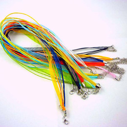 Jewelry Accessories Silk Organza braided Necklace Strap Cord Chain 1000pcs Mix Color Free Shipping