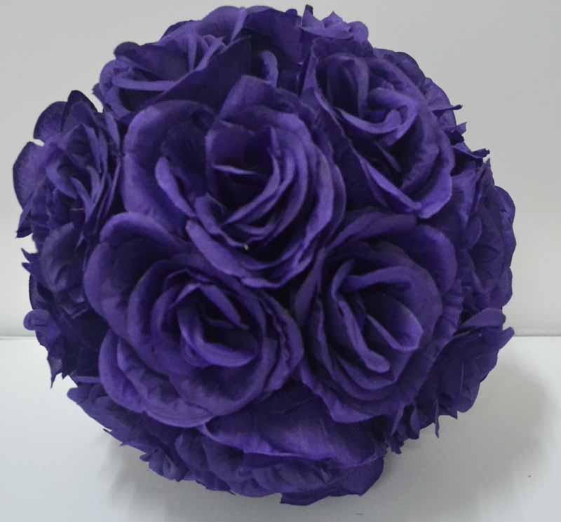 Acheter Violet Lavande Couleur Soie Embrasser Rose Fleur Balle