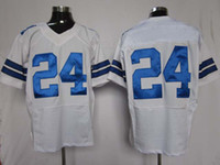 Wholesale Game Jerseys Wholesale - Elite Jerseys American Football 24 White Game Jerseys All Team Jersey