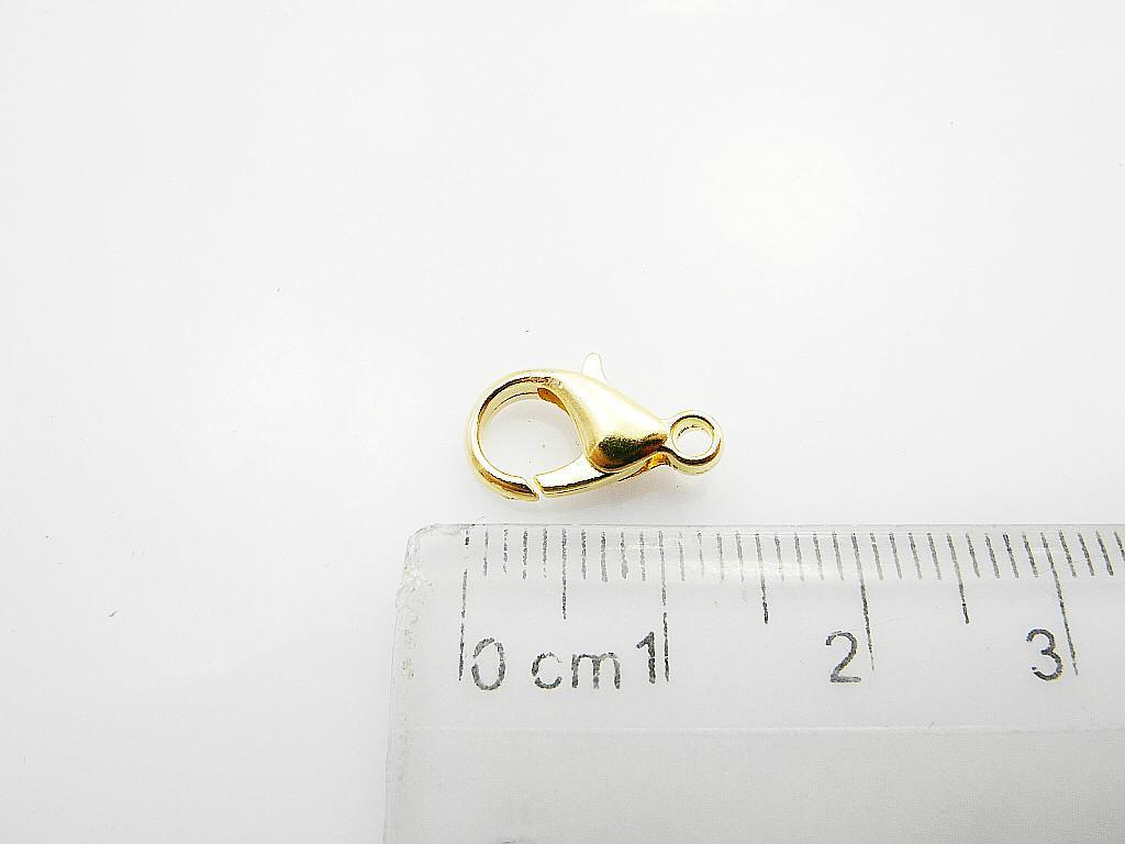 Grandi risultati dei monili 200pcs / lot dei monili del catenaccio dell'aragosta dell'oro dell'ottone di dimensione 20mm Trasporto libero