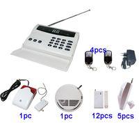 Wholesale Sirens Home - Wireless home security PSTN burglar alarm system w autodialer wireless siren P5A