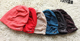 Wholesale Ca Designs - 20pcs* Twisted design Children Double-sided Hat baby's Adult Hats gray blue red coffee Cap cotton ca