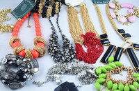 Wholesale Cheap Acrylic Necklaces - Hot Sale Europe Style Necklaces Bracelets Earrings Rings Multi Fashion Jewelry Wholesale 500g Cheap