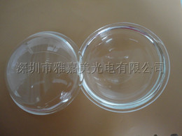 Wholesale Concave Glass Lens - Mining lamp LED lens diameter 100MM concave-convex glass lenses 10-100W high power convex lens