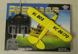 NUEVO juguete único Sea gaviota 803 RTF PIPER J3 CUB Rc Airplane Super Glider on Sale