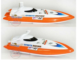 Wholesale Boat R C - Free Shipping RC Boat 41cm R C Racing Boat RC Electric Radio Remote Control Speed Ship rc Toys boats