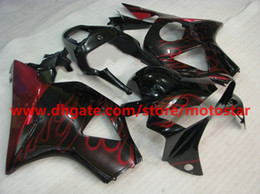 Honda 954 Canada - Free Customize red flame bodywork fairing for HONDA CBR954RR 954 2003 2002 CBR900 954RR CBR954 02 03 CBR900RR fairings kit