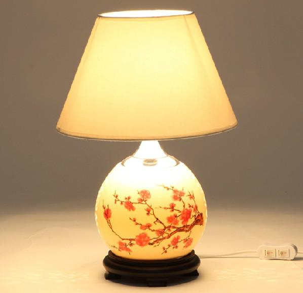 Online Cheap Modern Fashion Ceramic Table Lamp Bedroom