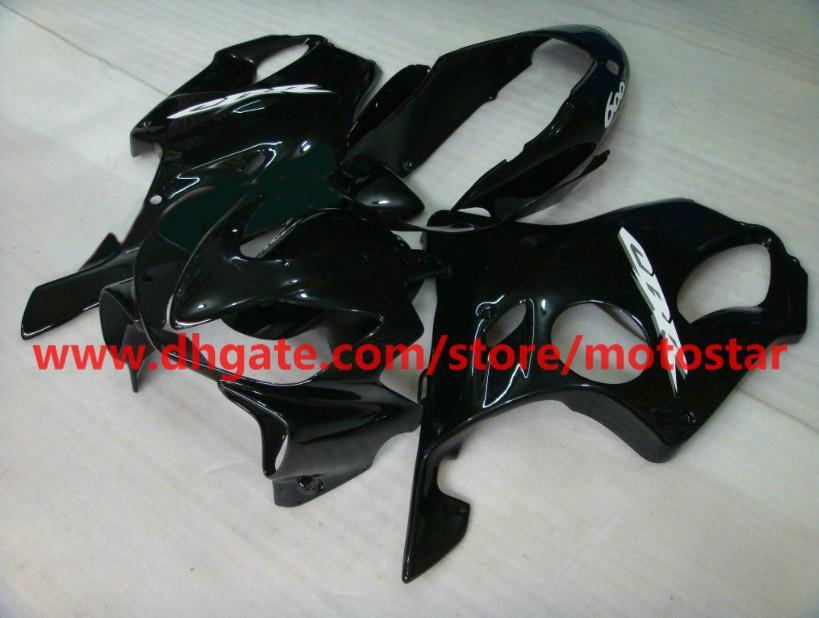 Customiz carrocería negra para el kit de carenado HONDA CBR600F4i CBR600 F4i 04 05 06 07 CBR 600 2004-2007 carenados