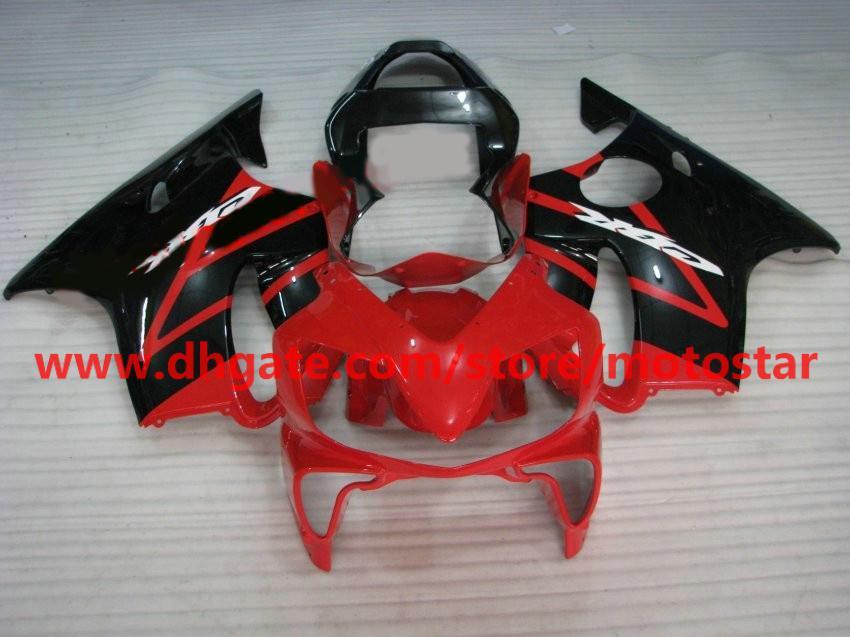 ABS HONDA 페어링 키트 용 플라스틱 차체 CBR600F4i 01-03 CBR600 F4i 01 02 03 CBR 600 2001 2002 2003 페어링