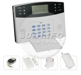 Wholesale Gsm Home Intruder Alarm System - new Home Security GSM Wireless Burglar Intruder Alarm System Support SMS Talk