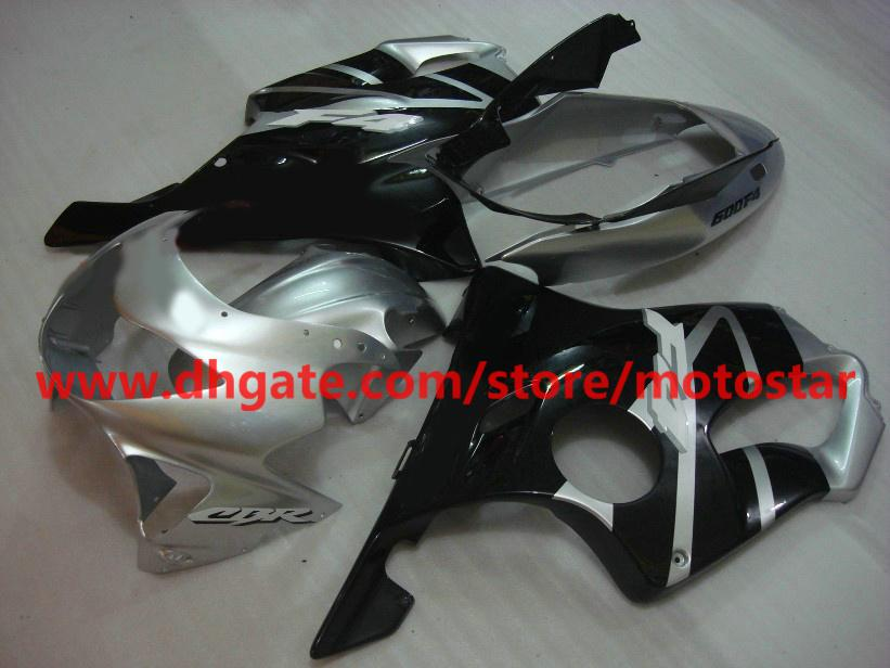 fashion gary black bodywork fairings kit for HONDA CBR600F4 1999 2000 CBR600 F4 99 00 CBR600F RX3C