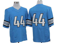 Wholesale Elite Football - 2012 Elite American Football All Team 44 Blue Adult Jerseys Rugby Jersey Mix Order
