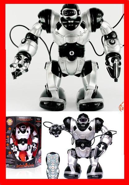 Buen embalaje robot de rc de control remoto TT313 juguete Roboactor robot inteligente de humanoide programable v