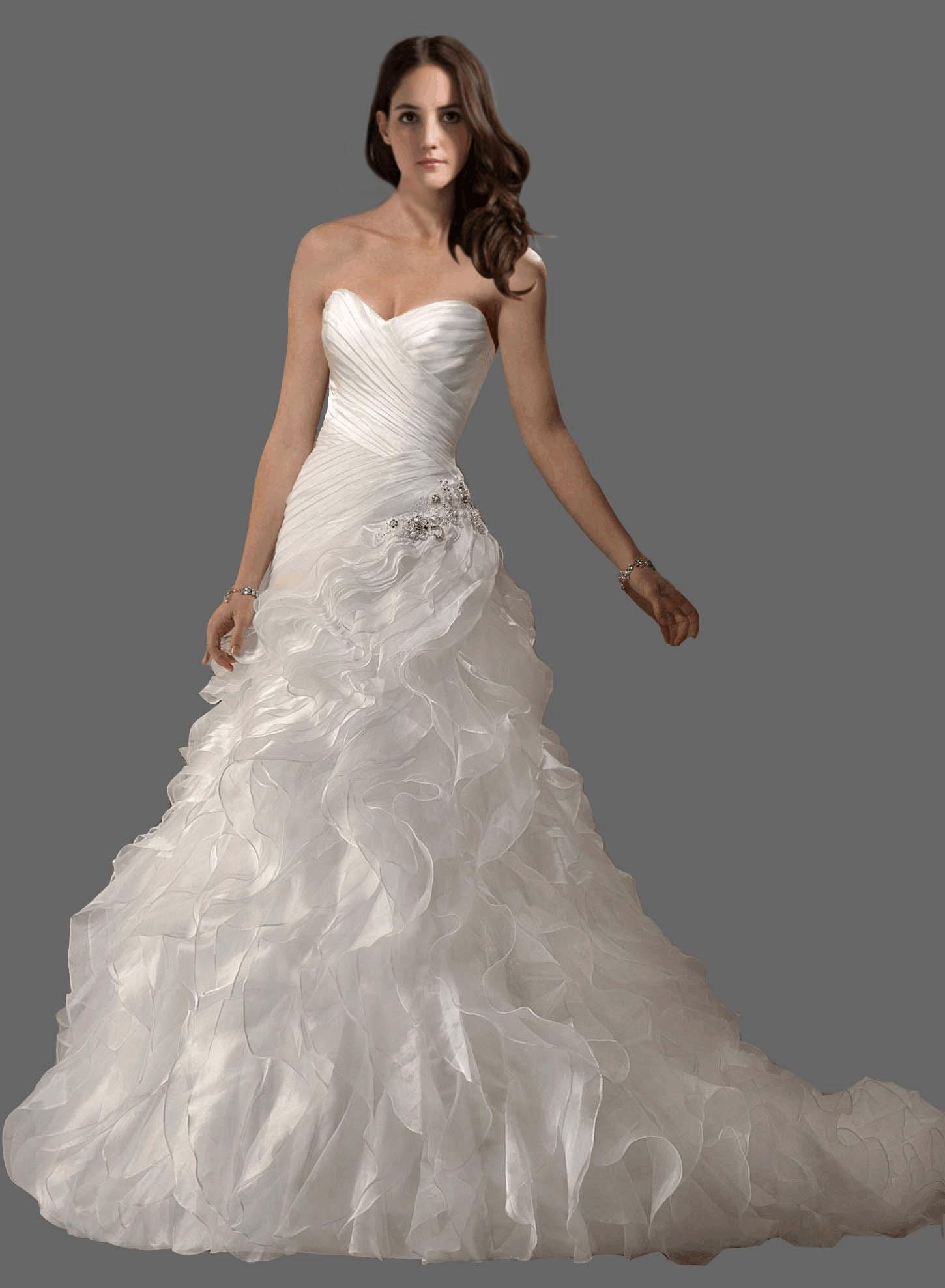 in stock sweetheart contoured wedding dresses with free bridal