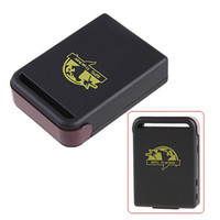 Wholesale Alarm Gsm Gprs - car Mini Spy Vehicle Realtime Tracker For GSM GPRS GPS System Tracking Device TK102