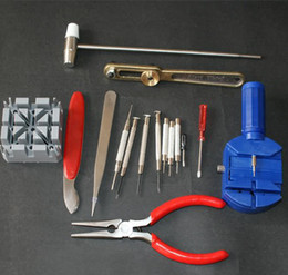 Wholesale Repair Settings - 16 Pcs Set Watch Repair Tools Watch Sets Tools Watch Maintenance Tools Repair watch band