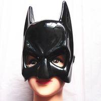 yetişkinler için siyah yarı maskeler toptan satış-2015 Gerçek Airsoft Maske Darth Vader Cadılar Bayramı Kostüm Partisi Maskesi Karikatür Simülasyon Erkek Çocuk Yetişkinler Batman Siyah Plastik Ve ...
