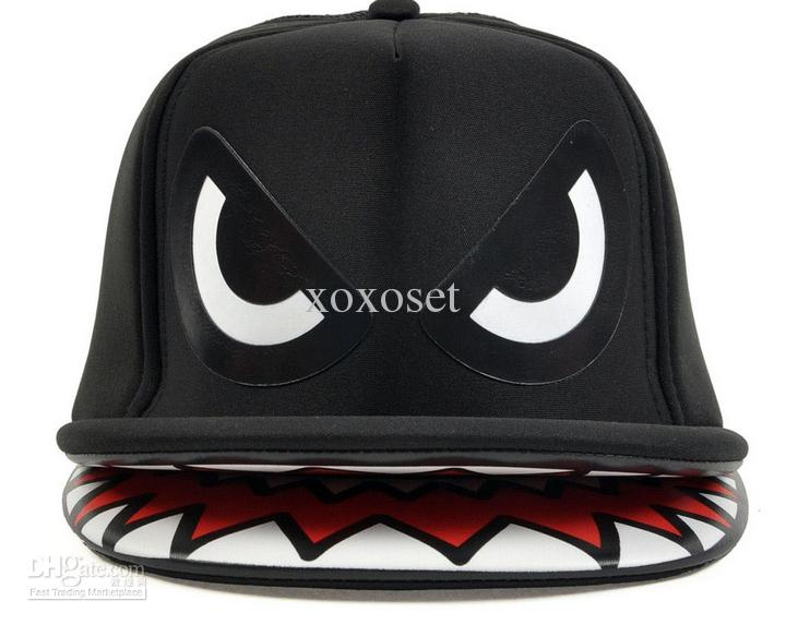 shark fin baseball hat fashion caps hip hop cap paul and