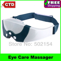 Wholesale Eye Forehead Massager - Free Shipping Mask Migraine DC Electric Care Forehead Eye Massager with Free Gift Eye Mask With Chea