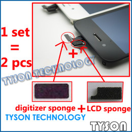 Coussin en mousse éponge blindé pour iPhone 4, câble LCD, écran tactile et numériseur, câble souple ? partir de fabricateur
