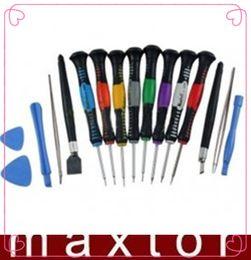 Wholesale Kit Screwdrivers Pc Phone - Free Shipping 16 In 1 Repair Tool Kit Screwdrivers PC Phone 2408A
