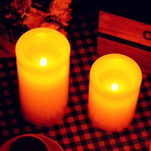 Decorazione elettronica della festa nuziale della batteria paraffina della candela senza fiamma del LED di