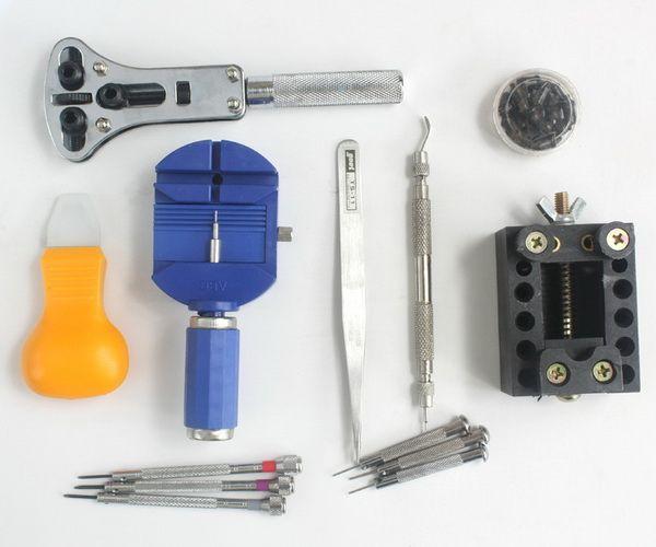 2スタイルの高品質ウォッチ修理ツールセットツールウォッチメンテナンスツール修復時計バンド腕時計