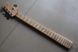Wholesale Fender Maple Neck - Wholesale - bass necks 5 strings bass Maple fingerboard fender model neck with tuning keys 20130301