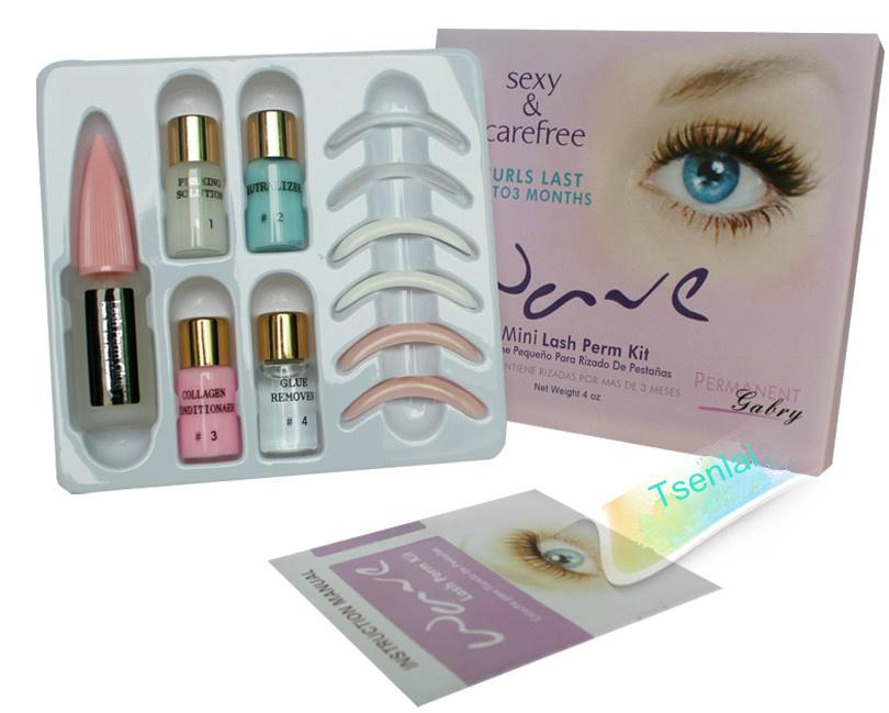 2018 Personal Professional False Eyelash Perming Wave Kit Natural