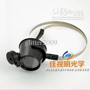 circuito di orologi riparazione professionale con LED Lampada occhio 15X ingrandimento strumenti di riparazione dell'orologio