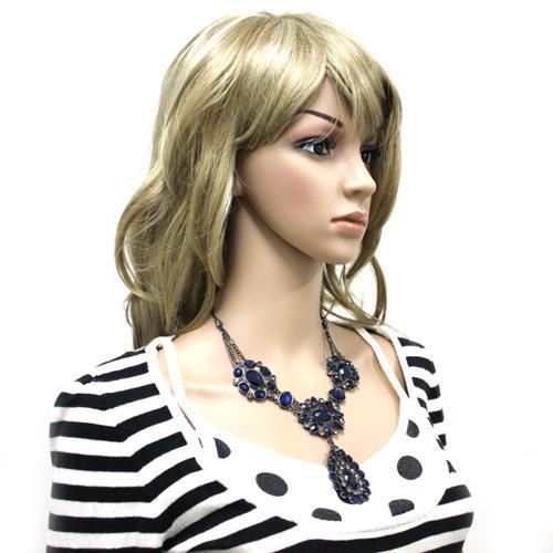 10% de descuento A Estrenar Declaración de Moda Bubble babero collar de acrílico colgante 1 unids / lote joyería de la señora Envío Gratis