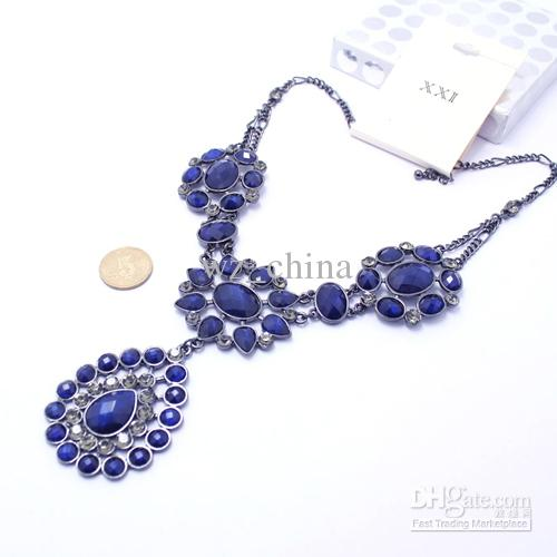10% de réduction Brand New Déclaration de mode Bulle bavoir acrylique collier pendentif / lady bijoux Livraison gratuite
