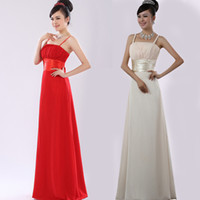 Wholesale Tail Pipes - Back 2 flowers Chiffon Bridal gown wedding dress evening long dress Long tail section dress 507
