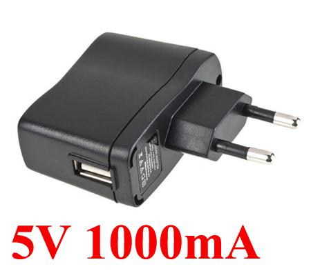 Free shipping 5V 1A USB Charger AC Power Supply Travel Wall 5V Adapter 500pcs/lot EU Plug