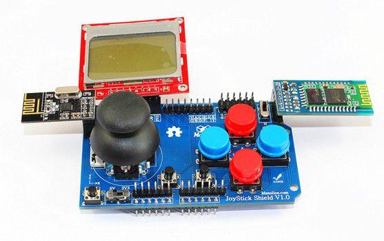 Acheter Les Manettes De Jeu Joystick Shield Pour Arduino De