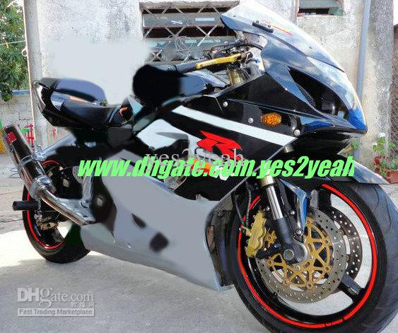 for suzuki 2004 2005 gsxr600 750 k4 gsx r600 750 gsxr600 gsxr750 04 05 body work black fairing. Black Bedroom Furniture Sets. Home Design Ideas