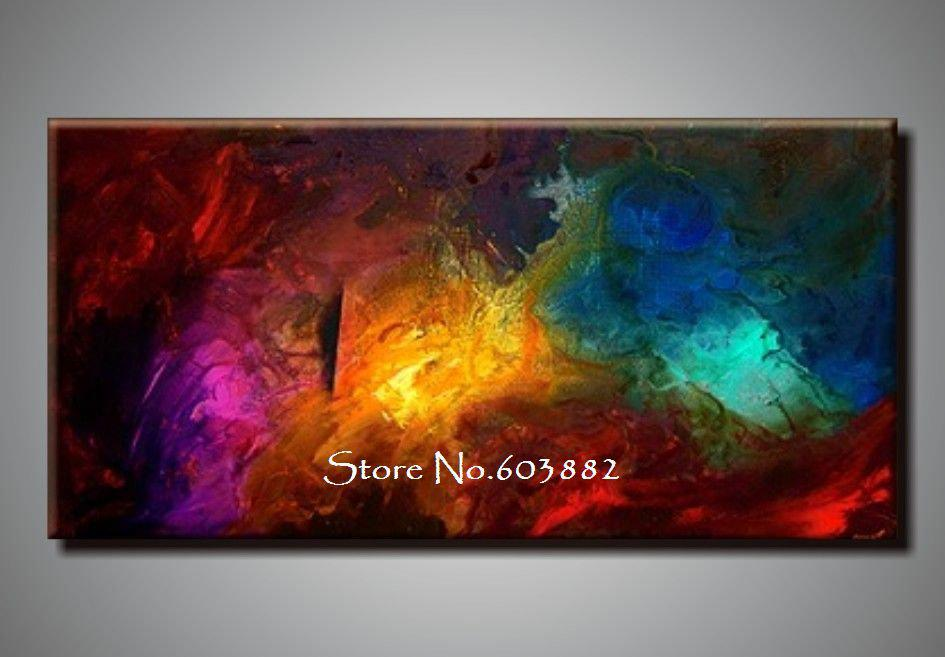 Canvas Wall Art best 100% handpainted large canvas wall art high quality home