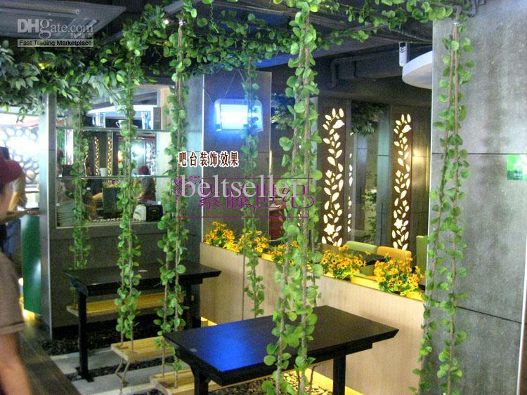 High Simulation plants artificial silk plastic begonia Winding vine flowers Home Decor