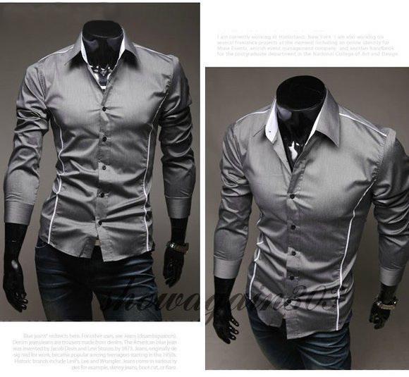 Men's Dress Shirts Wholesaler Yangguangdidai Sells Hot Sale Men'S ...
