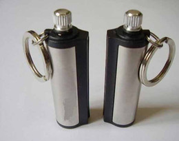 Wholesale Wholesale Kerosene - Stainless Steel Million Match Military Waterproof Lighter Camping Kerosene Matches