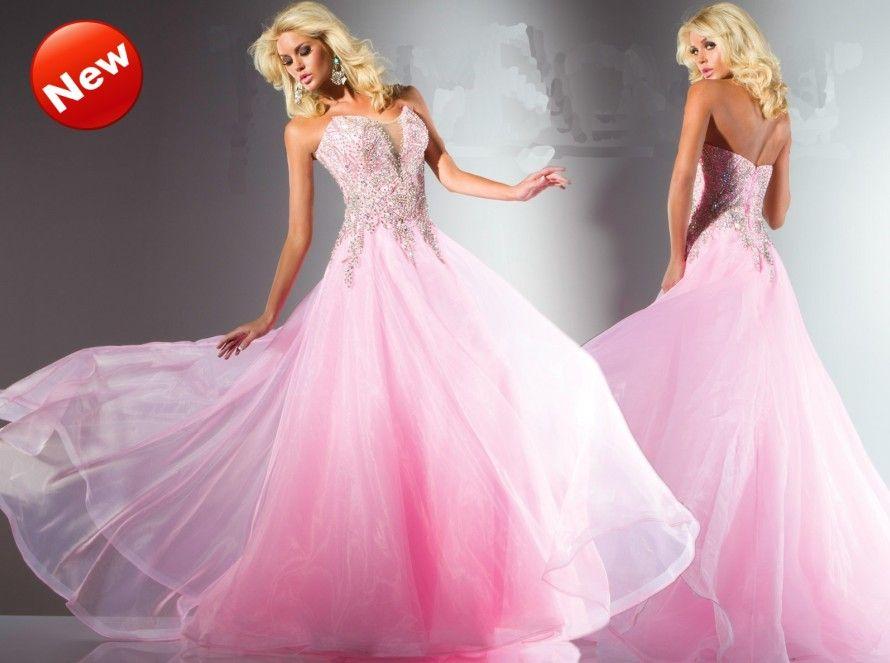 Pink Prom Dresses 2013 Source