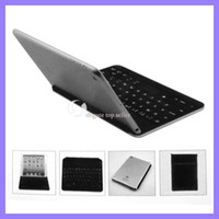 Wholesale Wireless Bluetooth Keyboard para Ipad Mini capa traseira para ipad mini 20pcs / lot