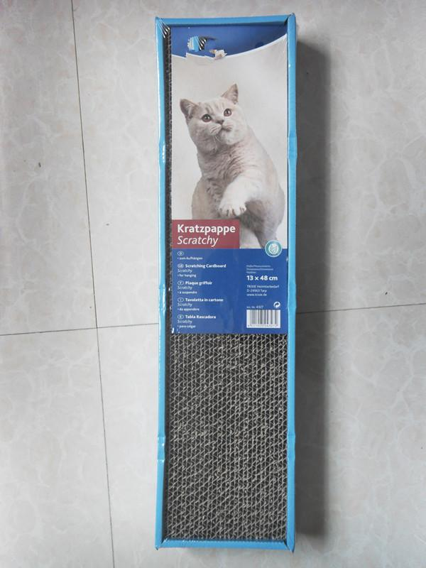 Livraison gratuite en carton ondulé jeu de chat chat meubles scratchers avec cataire