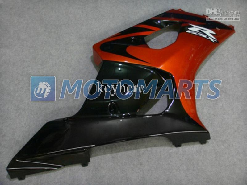 Moda de ouro ABS kit corpo da carenagem Da Motocicleta para Suzuki GSX R1000 2003 2004 K3 GSXR1000 03 04 RX8B